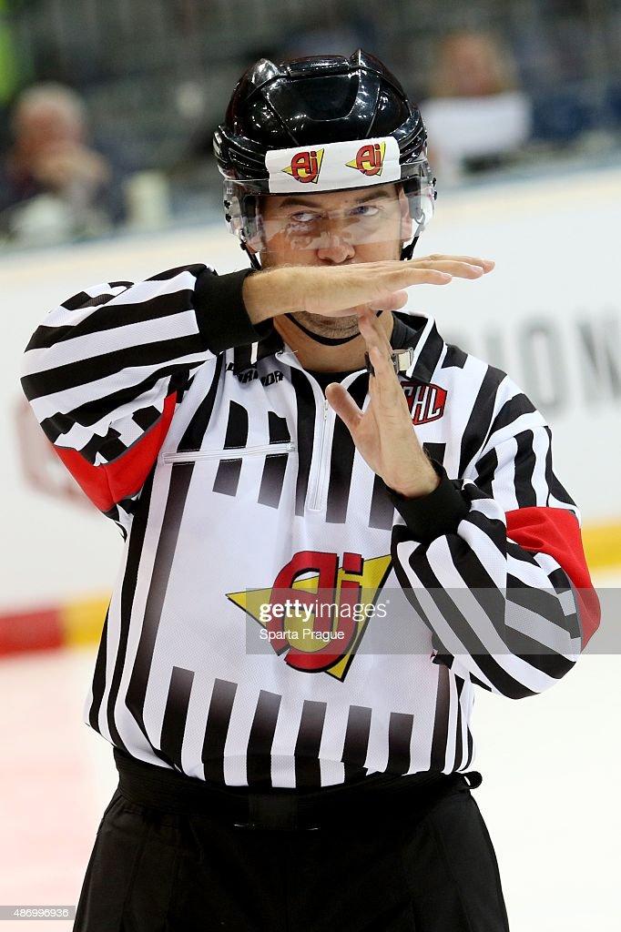 Sparta Prague v Geneve-Servette - Champions Hockey League : News Photo