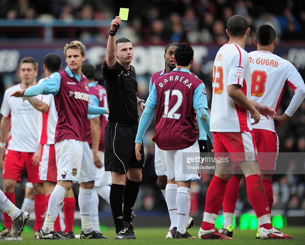 West Ham United v Nottingham Forest - FA Cup 4th Round : News Photo