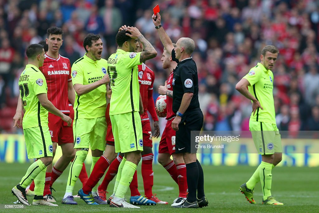 Middlesbrough v Brighton and Hove Albion - Sky Bet Championship : News Photo
