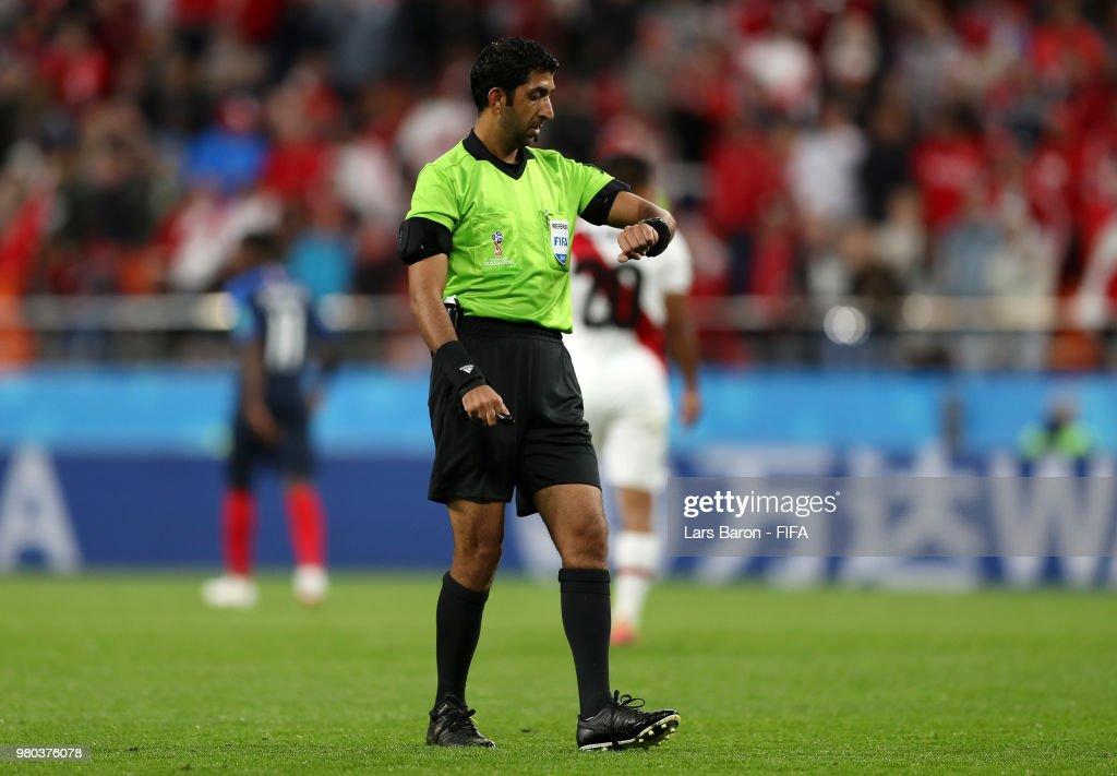 France V Peru Group C