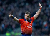 london england referee nigel owens during