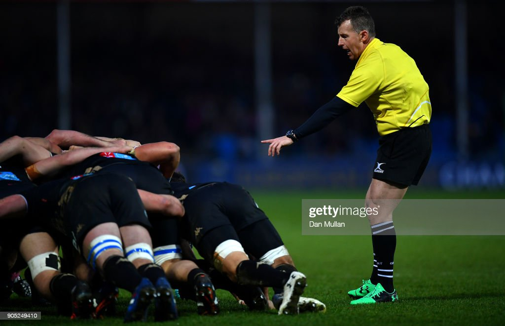 Exeter Chiefs v Montpellier -  Champions Cup : News Photo