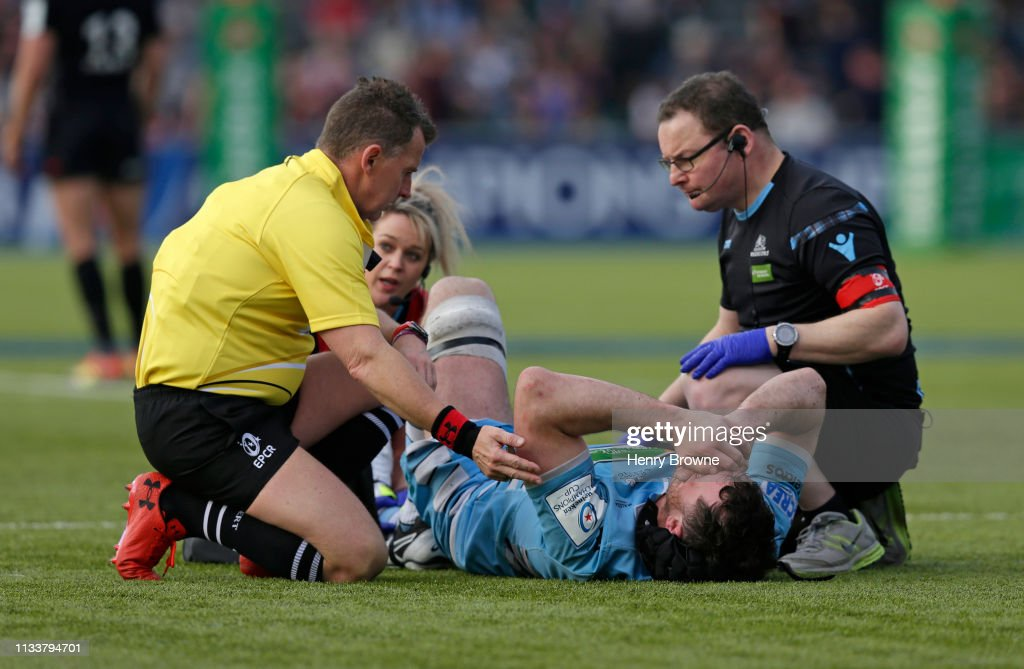 Saracens v Glasgow Warriors - Heineken Champions Cup Quarter Final : News Photo