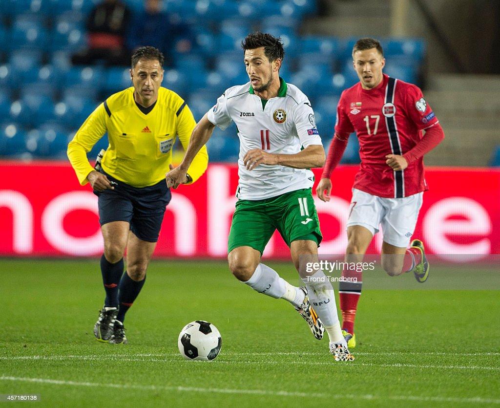 Norway v Bulgaria - EURO 2016 Qualifier