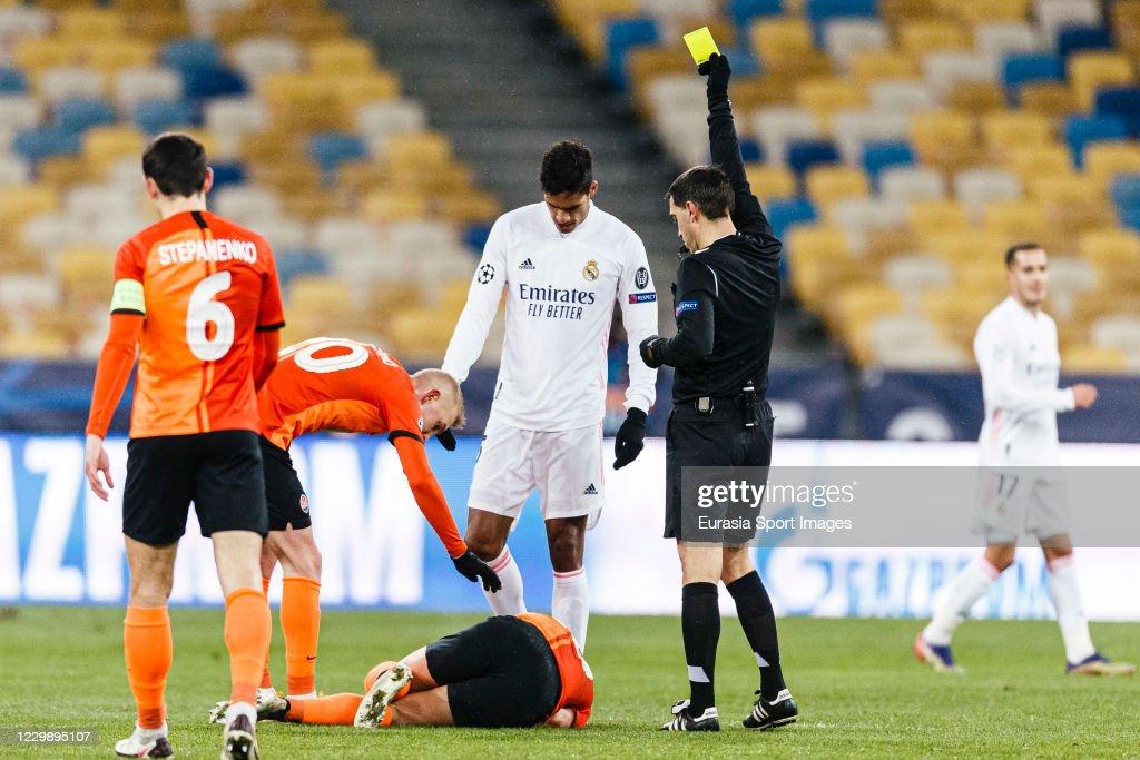 Shakhtar Donetsk v Real Madrid: Group B - UEFA Champions League : News Photo