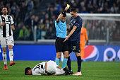 turinitaly referee ovidiu hategan shows an