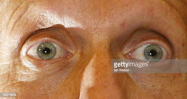 Referee Pierluigi Collina of Italy talks to the media during the launch press conference of his new book The Rules of The Game at the King George...