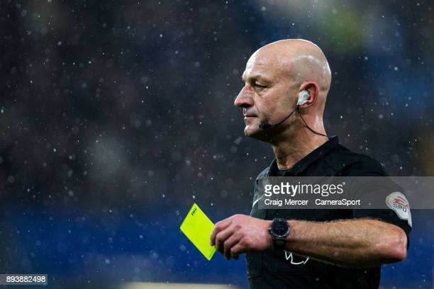 Referee Roger East during the Premier League match between Chelsea and Southampton at Stamford Bridge on December 16 2017 in London England
