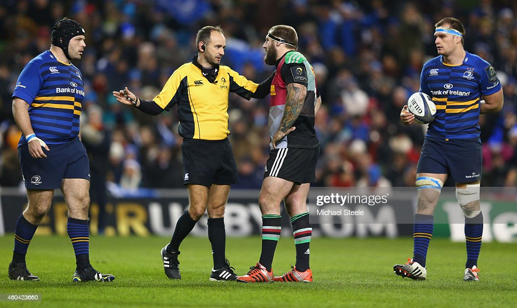 Leinster Rugby v Harlequins - European Rugby Champions Cup