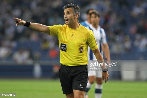 Referee Rui Costa during the Premier League 2016/17 match between FC Porto and CD Feirense at Dragao Stadium in Porto on April 23 2017