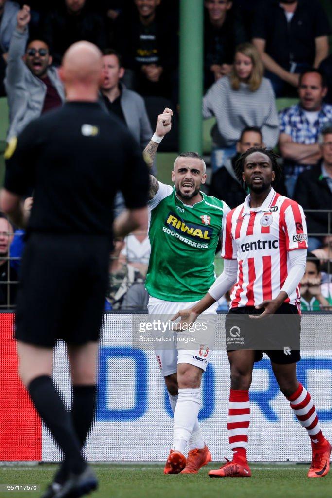 FC Dordrecht v Sparta - Dutch Jupiler League