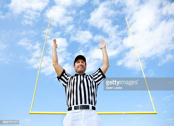 Referee Signals For Touchdown