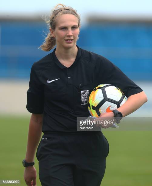 Referee Stacey Ford during FA Women's Premier League Southern Division match between C amp K Basildon Ladies against West Ham United Ladies at Frost...