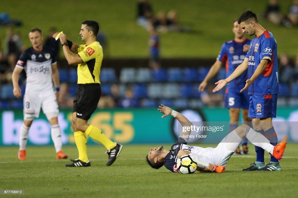 A-League Rd 8 - Newcastle v Melbourne
