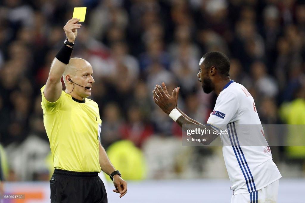 "UEFA Europa League""Olympique Lyon v Ajax"" : Foto di attualità"