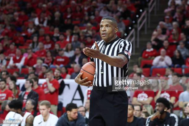 Referee Ted Valentine The North Carolina State Wolfpack hosted the University of Notre Dame Fighting Irish on February 3 2018 at PNC Arena in Raleigh...
