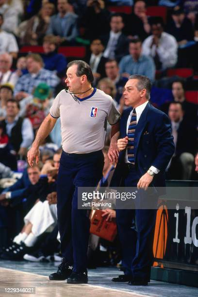 NBA referee Terry Durham during a game at KeyArena in Seattle Washington NOTE TO USER User expressly acknowledges and agrees that by downloading and...