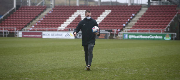 GBR: Northampton Town v Oxford United - Sky Bet League One