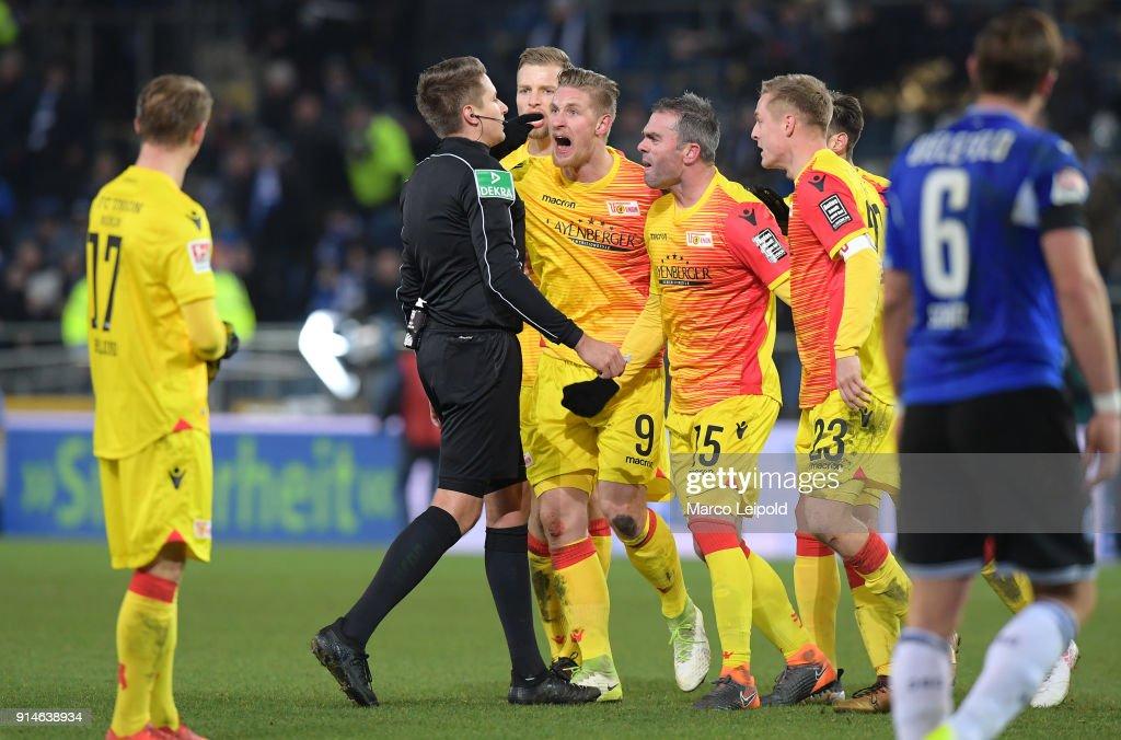 DSC Arminia Bielefeld v 1. FC Union Berlin - Second Bundesliga
