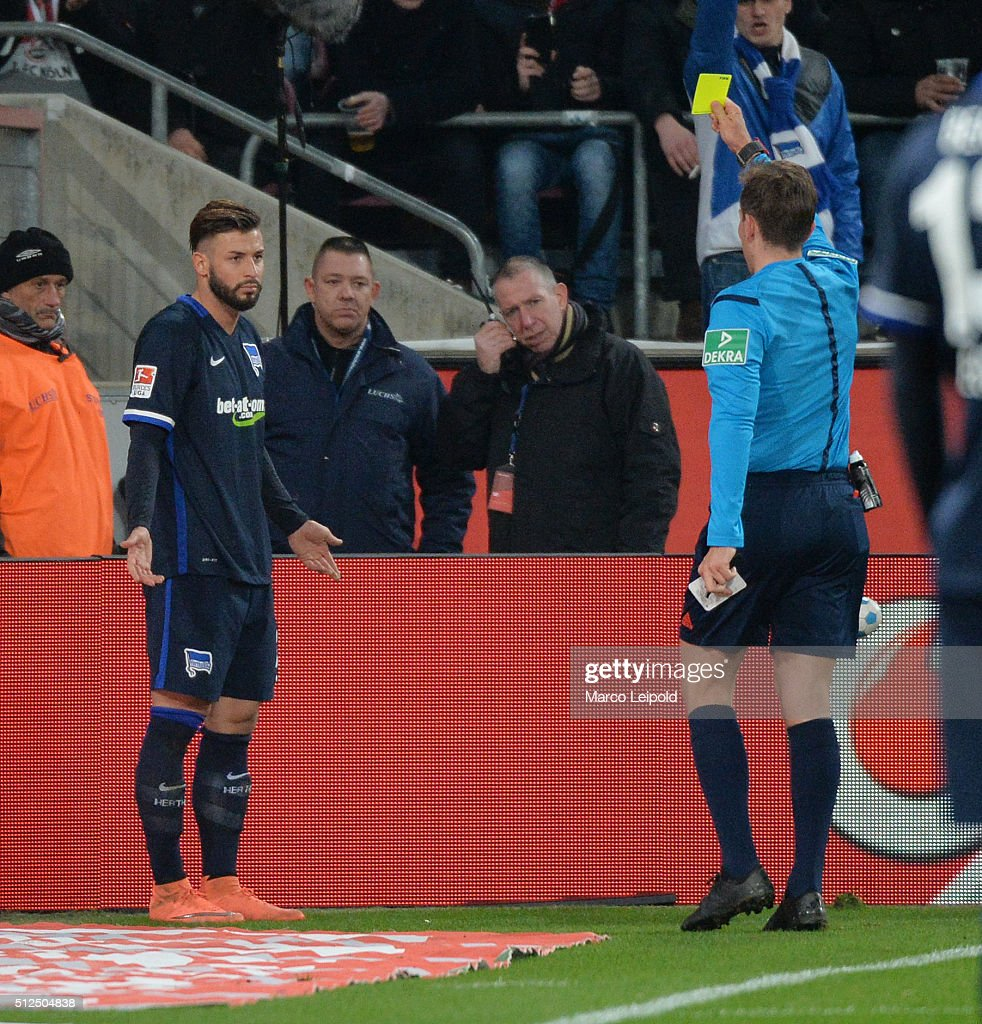 1. FC Koeln v Hertha BSC - Bundesliga : News Photo