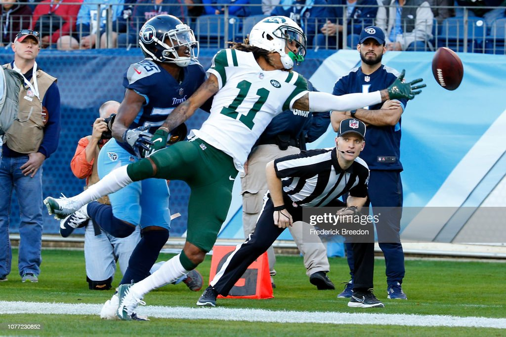 New York Jets v Tennessee Titans : News Photo