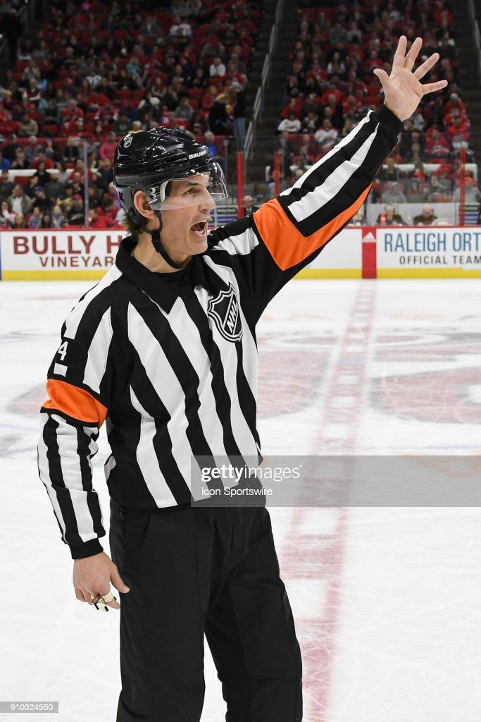 NHL: JAN 21 Golden Knights at Hurricanes : News Photo