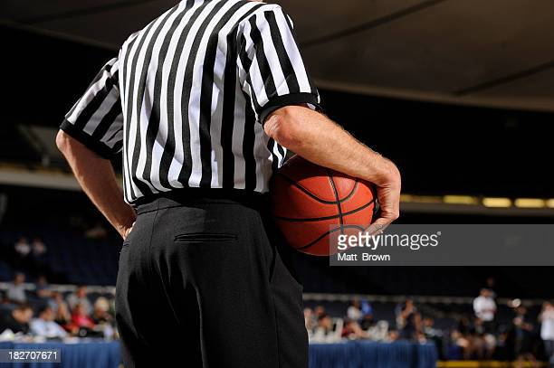 Referee with Basketball