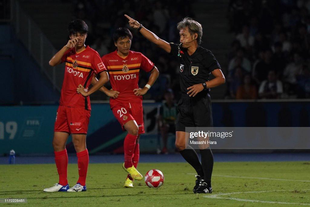 Kawasaki Frontale v Nagoya Grampus - J.League Levain Cup Quarter Final 1st Leg : ニュース写真