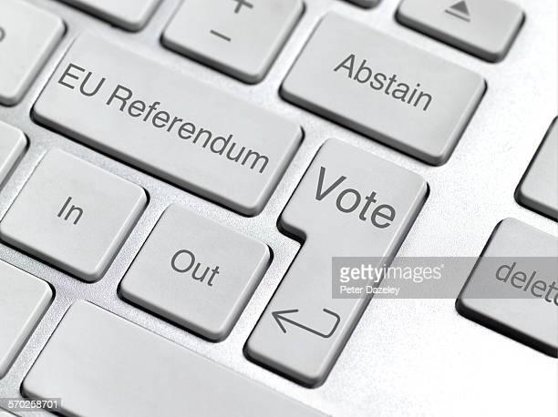 EU referendum keyboard