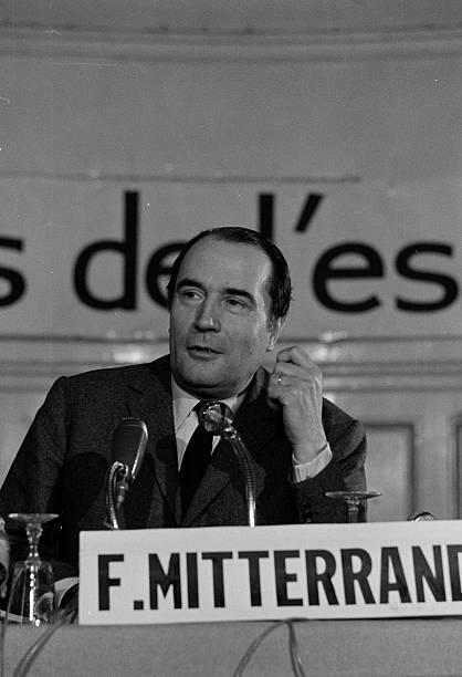 Referendum Of April 27th 1969 The No Campaign Francois Mitterrand