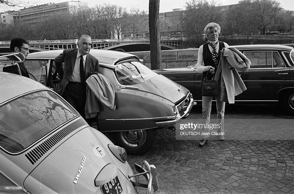 Referendum Of April 27th 1969 Vote Georges Pompidou In Orvilliers News Photo