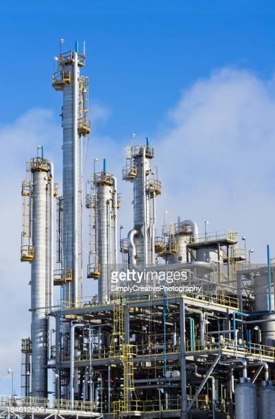 Raffinerie Hintergrund