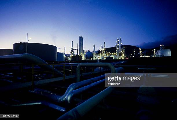 refinery nightshot