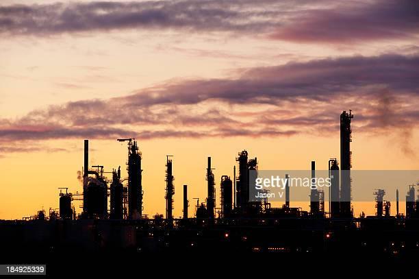 Refinery Silhouette