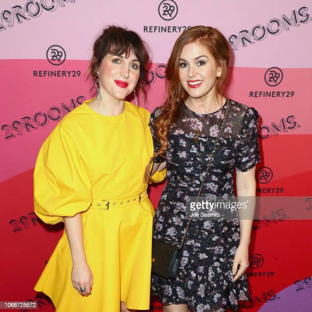 Refinery29 Creative Director Piera Gelardi and Isla Fisher attend Refinery29 Presents 29Rooms Los Angeles 2018 Expand Your Reality at The Reef on...