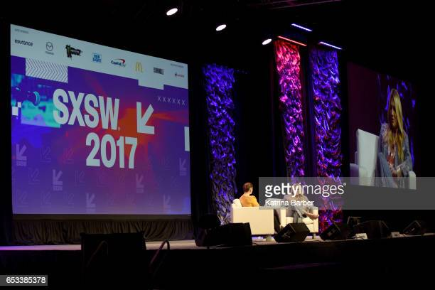 Refinery29's Amy Emmerich and Kesha discuss 'Reclaiming the Internet' during 2017 SXSW Conference and Festivals at Austin Convention Center on March...