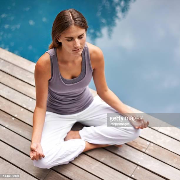 Reflected calmness
