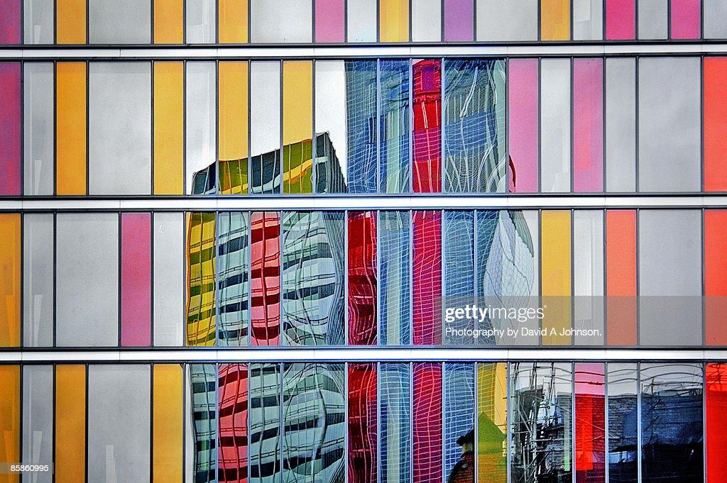 CIS reflected-Shudehill : Stock-Foto