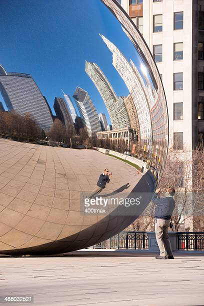 Reflecting in the Bean