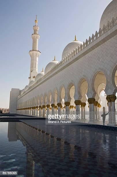 Reflecting pool by Sheikh Zayed Mosque, Abu Dhabi