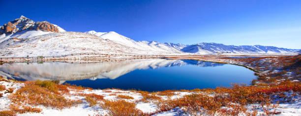 Reflection, Aligun Pass, Dalton Highway, Alaska