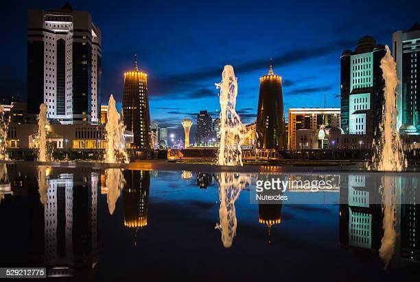 Reflection astana city