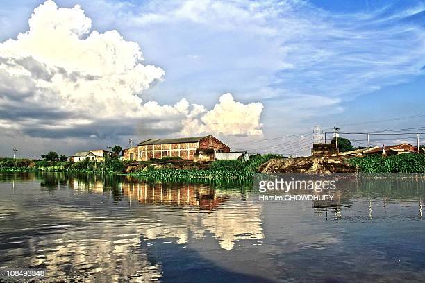reflection- bangladesh - bangladesh village stock photos and pictures