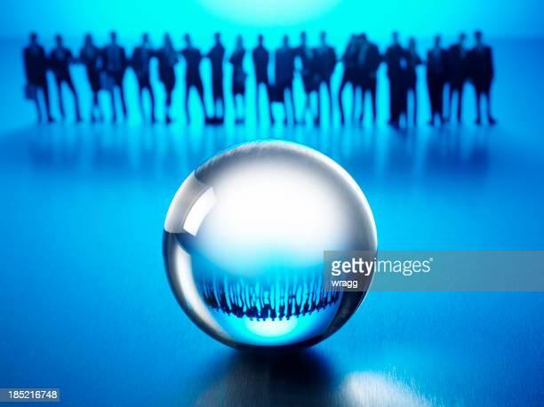 Reflet dans une Boule de cristal
