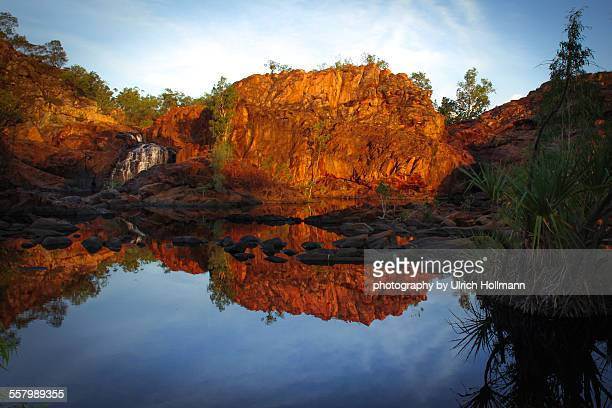 Reflection lake Katherine Gorge