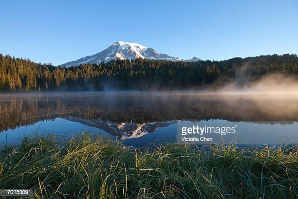Reflection Lake, Rainier Mountain, Washington