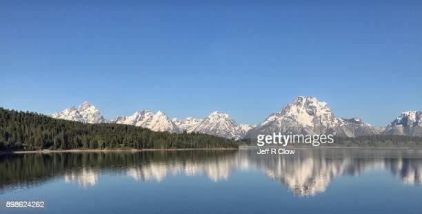 Reflection Mountain at Jackson Lake 7