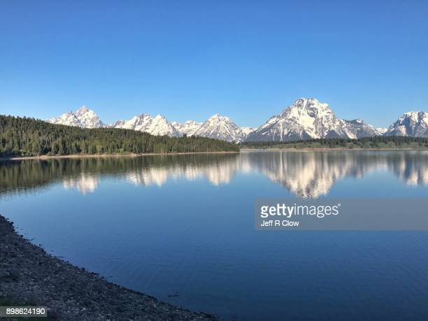 Reflection Mountain at Jackson Lake
