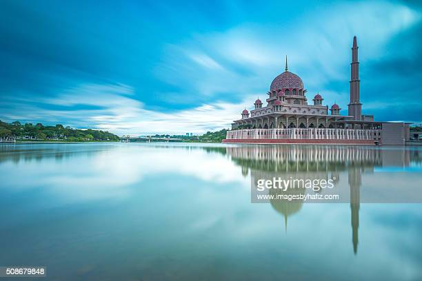 Reflection of a Mosque by a Lake.