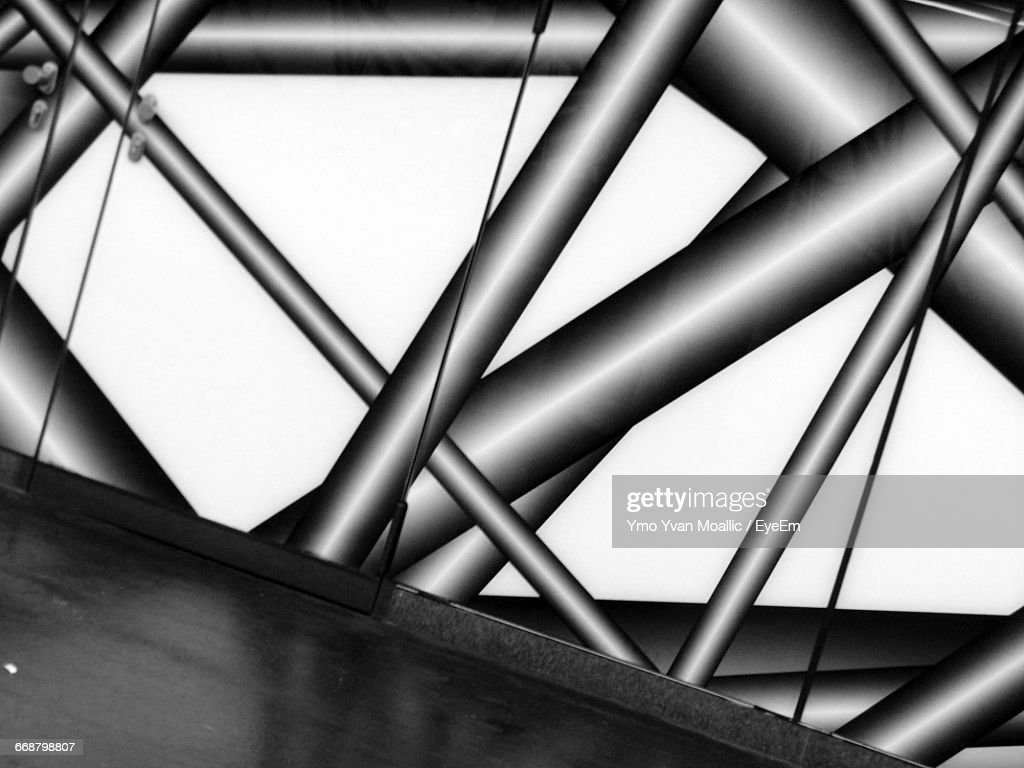Reflection Of Aluminum Structure : Stock-Foto
